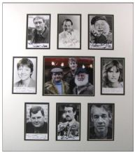 Only Fools and Horses Cast Signed Autographs